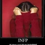 INFP آدمی با ارزشهای شخصی عمیق اما  اعلام نکردنی